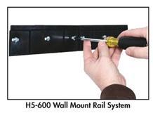 LOCBIN™ WALL MOUNT RAIL